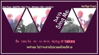 Video [Karaoke & Thaisub] DAY6 - Sing me download MP3, 3GP, MP4, WEBM, AVI, FLV Maret 2018