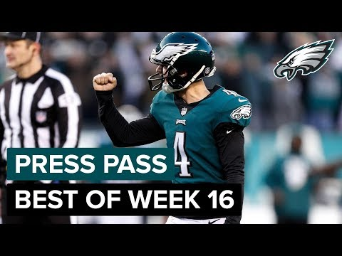 Elliott, Long, Jeffery, & More React To Win Over Texans | Eagles Press Pass Compilation