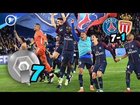 Le PSG atomise Monaco et décroche son 7e titre | Revue de presse