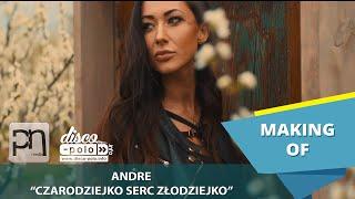 Andre - Czarodziejko serc złodziejko - Making of (Disco-Polo.info)