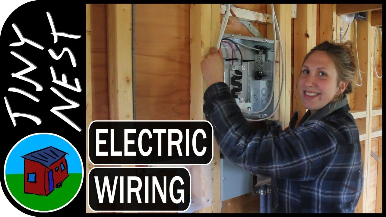 tiny house electrical wiring part 1 ep 40 40 year old house wiring [ 1280 x 720 Pixel ]
