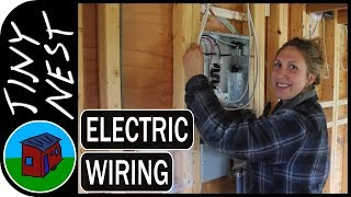 Tiny House Electrical Wiring - Part 1  Ep.40