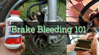 Brake Bleeding / Chąnge Brake Fluid / How to bleed my brakes / Paano mag bleed ng brakes / tagalog