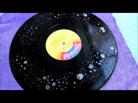 Cleaning a Moldy Vinyl Record