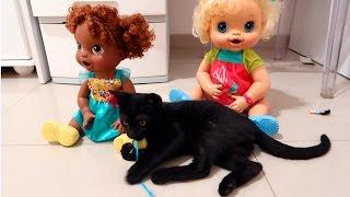 BIA LOBO / BABYALIVE / LADYBUG / CAT PUPPY