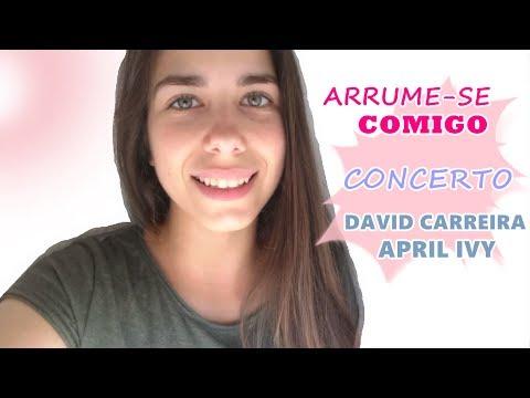 ARRUME-SE COMIGO + CONCERTO DAVID CARREIRA E APRIL IVY