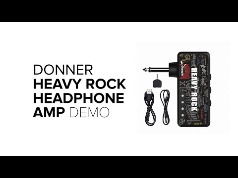 Donner - Heavy Rock Pocket Mini Headphone Amp