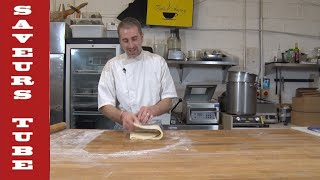 How to make Puff Pastry with The French Baker French T.V. Chef Julien Picamil  from Saveurs .