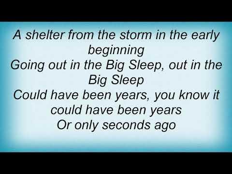 Simple Minds - Big Sleep Lyrics