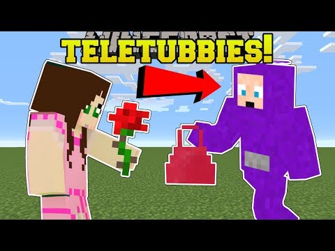 Minecraft: TELETUBBIES!! (GAMINGWITHJEN'S FAVORITE SHOW IN MINECRAFT!) Mod Showcase thumbnail
