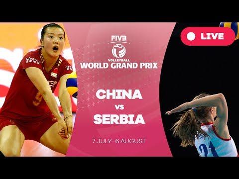 China v Serbia - Group 1: 2017 FIVB Volleyball World Grand Prix
