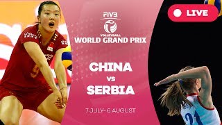 China v Serbia - Group 1: 2017 FIVB Volleyball World Grand Prix