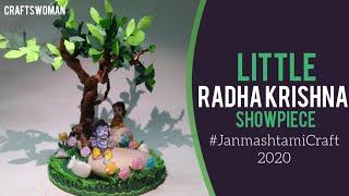 Little Radha Krishna | #JanmashtamiCraft | CRAFTSWOMAN