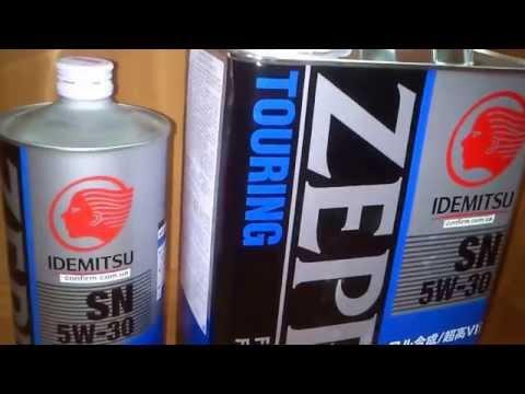 Моторное масло Idemitsu Zepro Touring SN/GF5 5W-30. Обзор.