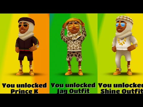 how to unlock prince k subway surfers