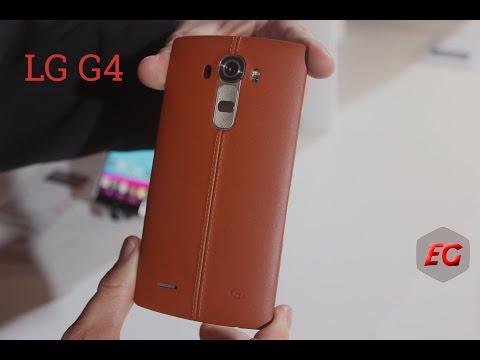 Prise en main du LG G4