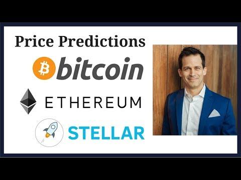 Price predictions: Bitcoin BTC Ethereum ETH Stellar XLM