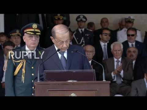 Lebanon: Pres. Aoun commends Lebanese army on Arsal 'liberation'