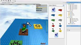 How to make a simple obby on roblox part 1