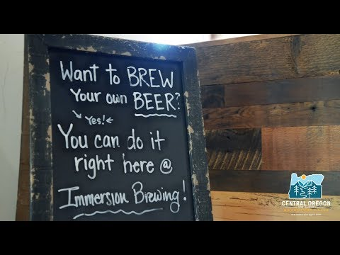 Brew-It-Yourself In Bend, Oregon With Immersion Brewing