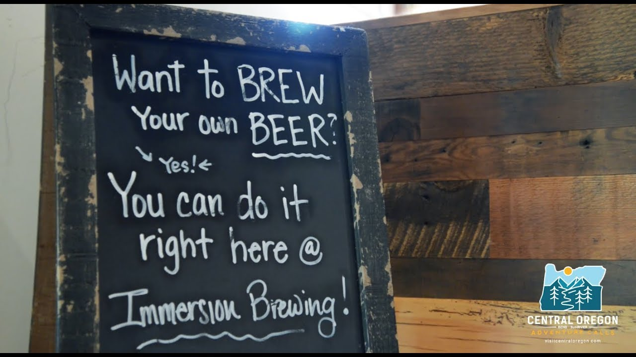 Brew it yourself in bend oregon with immersion brewing youtube brew it yourself in bend oregon with immersion brewing solutioingenieria Image collections