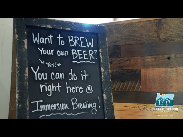 Video gallery visit bend sunriver redmond sisters brew it yourself in bend oregon with immersion brewing solutioingenieria Image collections
