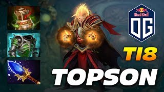 Topson Invoker | OG vs EG | The International 2018 Dota 2