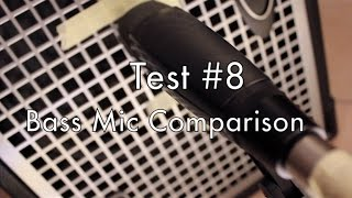 Bass Mic Comparison - SM57/421/Audix/Akg - Test 8
