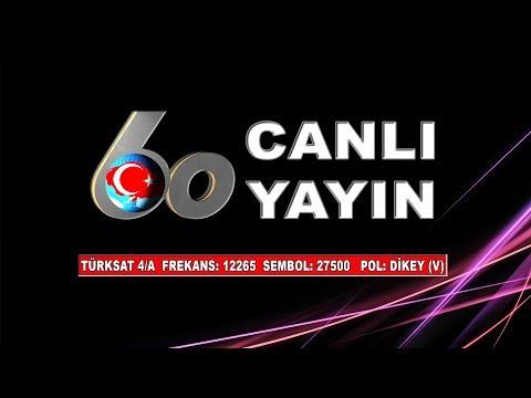 TV 60 Canlı Yayın - VEYSEL BEKTAŞ İLE DERDE DERMAN TÜRKÜLER  21.01.2018