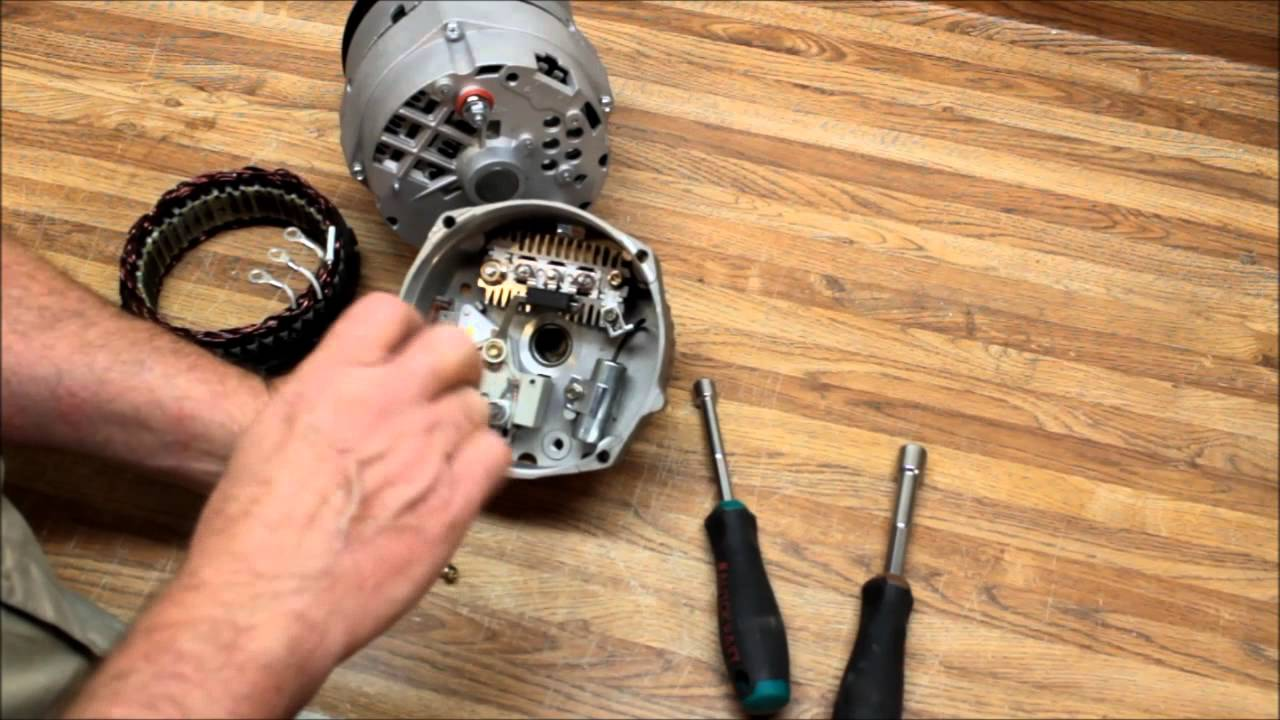 Delco Remy's 10Si &12Si Alternator Repair & Upgrade Part 2 of 2