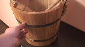Как запарить дубовый веник для бани - YouTube