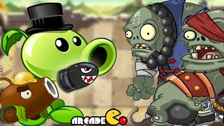 Plants Vs Zombies 2 Kung World: Far Future Coconut Cannon On Fire (China IOS Version)