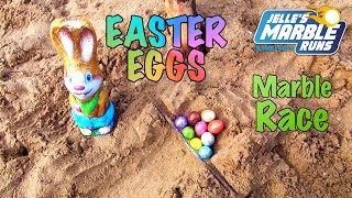 Easter Eggs Marble Race - Jelle's Marble Runs