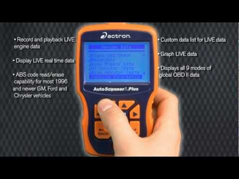 Actron AutoScanner Plus with CodeConnect