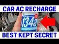 BEWARE Of Self-Sealing Auto A/C Refrigerant Cans