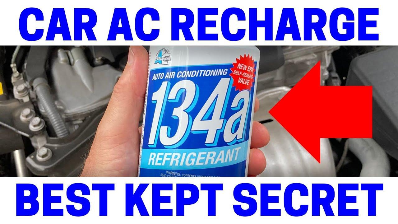 NEVER Do This Adding A/C Refrigerant To Your Car