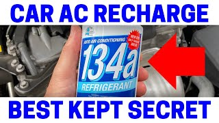 NEVER Do This Recharging Your Car's AC System