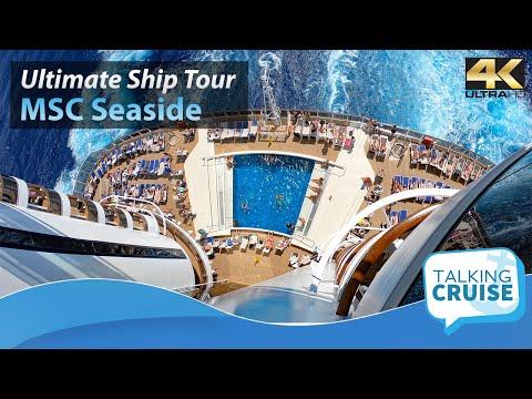 MSC Seaside - Ultimate Cruise Ship Tour