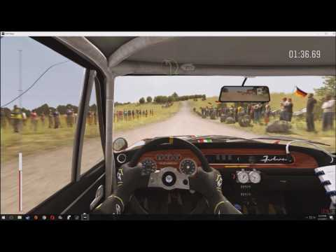Dirt Rally- Baumholder, Germany stage 6