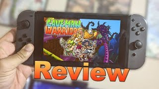 Caveman Warriors Review (Video Game Video Review)