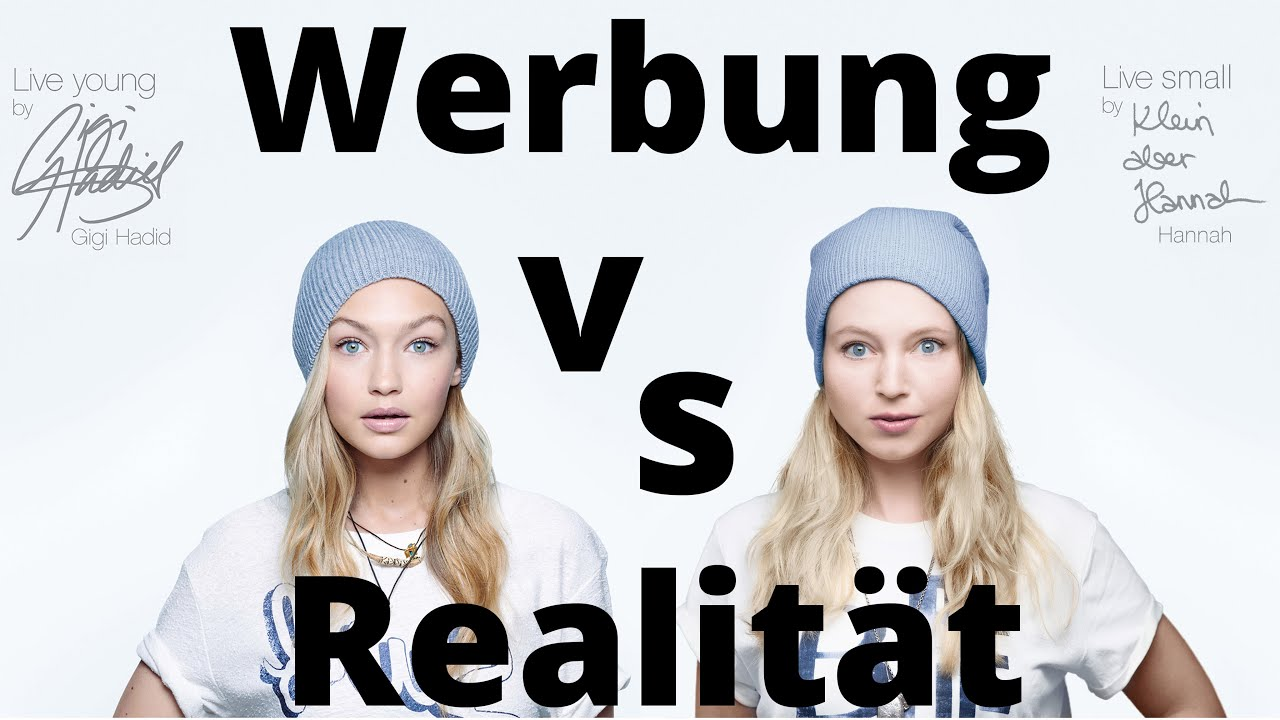 WERBUNG vs REALITÄT - Getränke - Coca Cola, Campari etc. I Klein ...