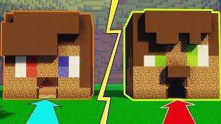 FAKİR BUGRAAK EVİ vs FAKİR JONATHAN EVİ vs  FAKİR CEKİK EVİ  - Minecraft