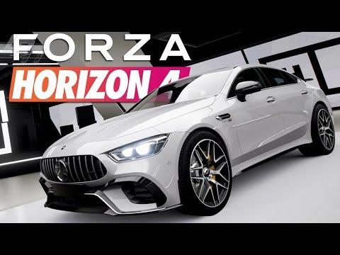 Mercedes-AMG GT 4-Türer! Der GT für Väter?! - FORZA HORIZON 4 Part 124 | Lets Play thumbnail