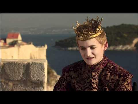 game of thrones mort du roi joffrey doovi. Black Bedroom Furniture Sets. Home Design Ideas