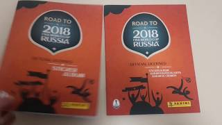 100% Complete Panini Road to FIFA World Cup Russia 2018 sticker album UK+international editions