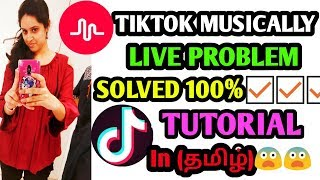 LIVE IN TIKTOK PROBLEM SOLVED 100%||Watch full video||How to go live in Tiktok?