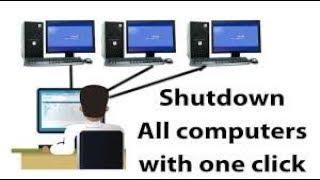 How To Shutdown Every Computer Near You
