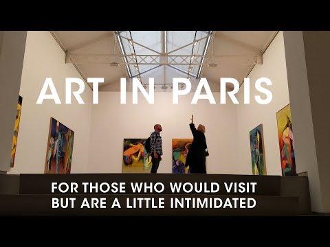 Visiting Art Galleries In Paris