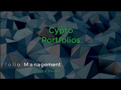 Crypto Portfolio Management Tools 11.29.2017