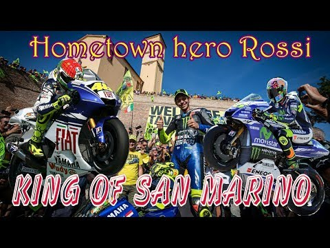Hometown hero : Valentino Rossi King of Misano San Marino MotoGP 🥇🏆😀